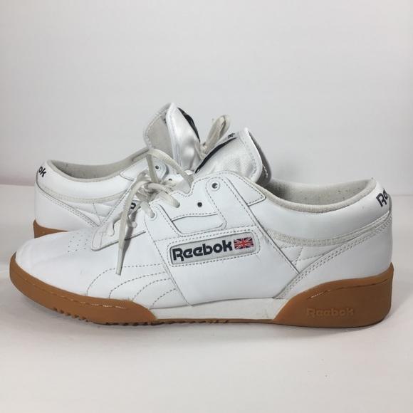 reebok workout low gum sole